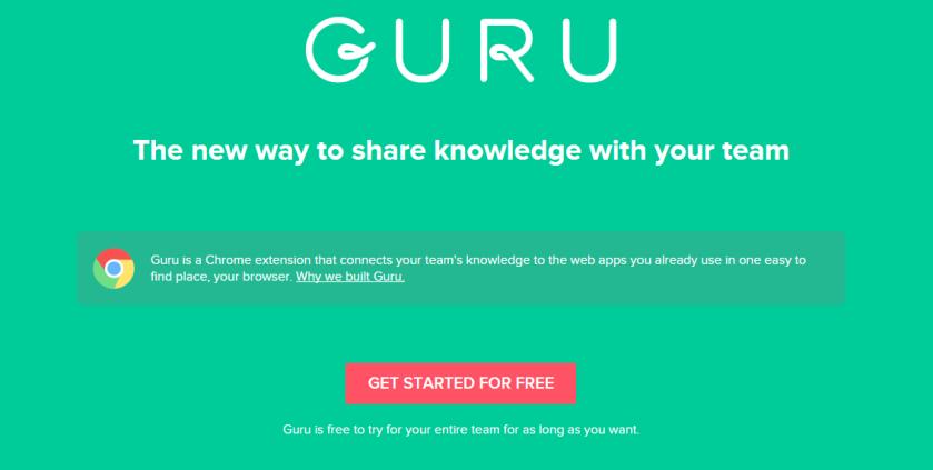 Guru-Chrome-KnowledgeSharing