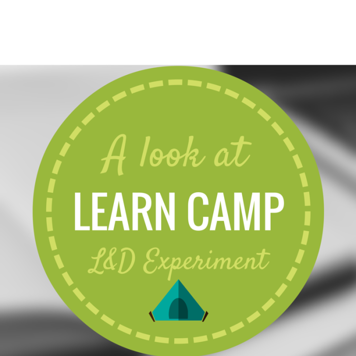 Working Out Loud & Learn Camp