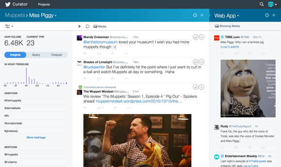Kicking the Tires on Twitter's Curation Tool