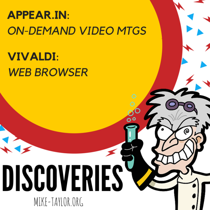 Recent Discoveries WorthSharing