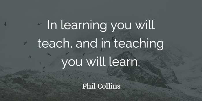 Image result for Phil collins teaching