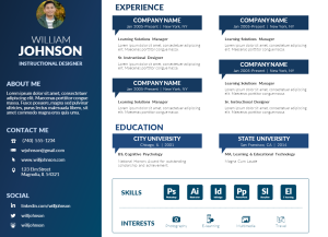 powerpoint-visual-resume