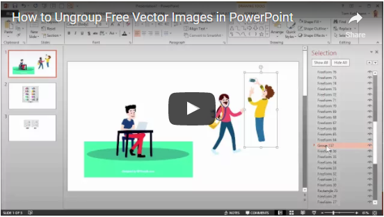 the secret to working with vector graphics in powerpoint mike taylor