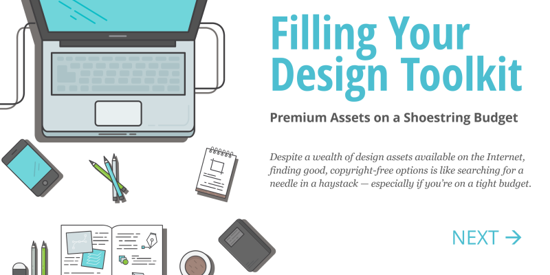 Filling Your Design Toolkit - The best free resources
