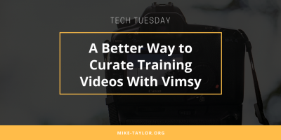 A Better Way to Curate Training Videos With Vimsy