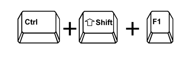 PowerPoint Fullscreen Shortcut