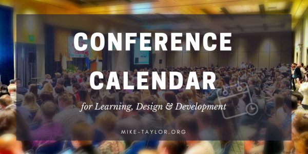 Learning & Development Conference Calendar