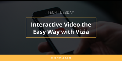 Interactive video the easy way with Vizia