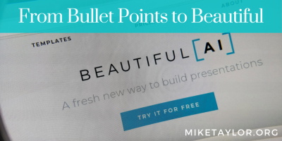 From Bullet Points to Beautiful with Beautiful.AI