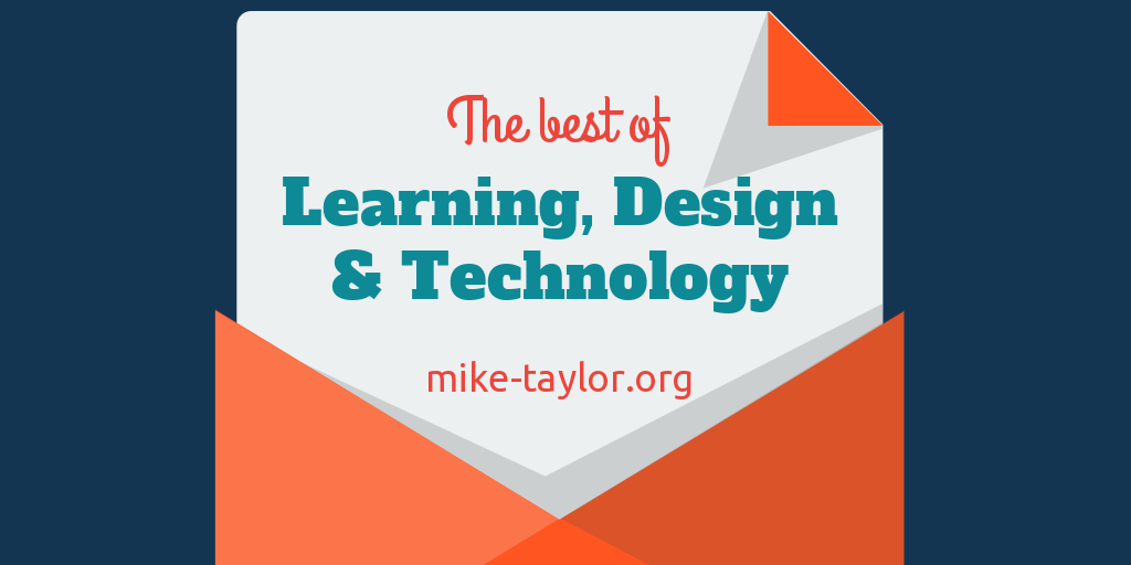 Friday Finds: The Best of Learning, Design & Technology | March 1, 2019