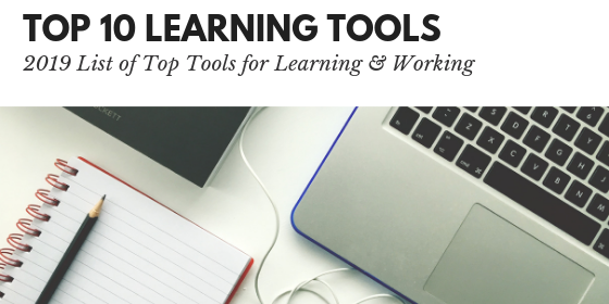 Mike Taylor´s Top 10 Learning Tools 2019