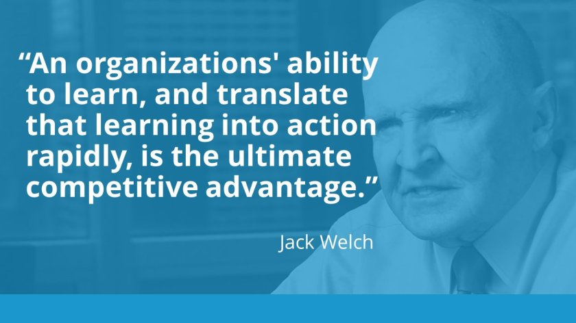 learning is the ultimate competitive advantage