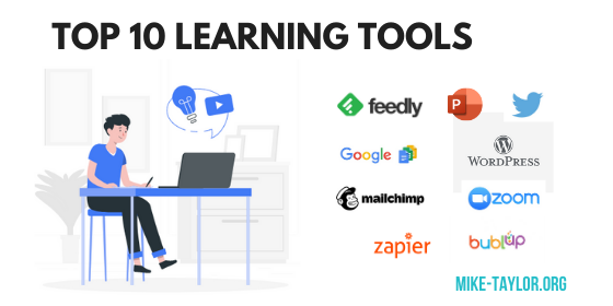 MIke Taylor's Top 10 Learning Tools for 2020